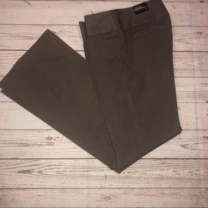 Express editor wide waistband career pants size 4R
